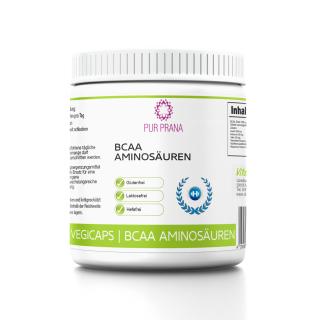 BCAA Aminosäuren 90 Tabletten, Pur Prana