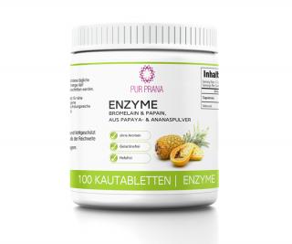 Enzyme 100 Kautabletten, Pur Prana