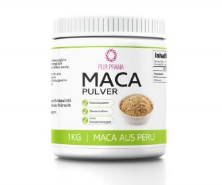 Maca Wurzel Pulver Peru - 1kg Beste Qualität, Pur Prana