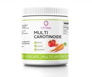Multi-Carotinoide 60 Vegicaps, Pur Prana