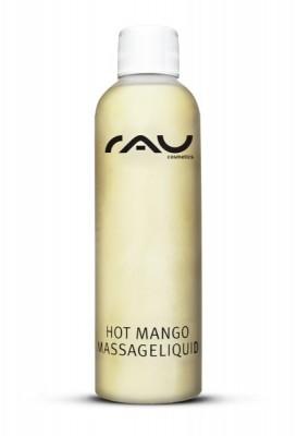 RAU Hot Mango 200 ml - Massage-Lotion mit wilder Mango und hochwertigen pflanzlichen Ölen