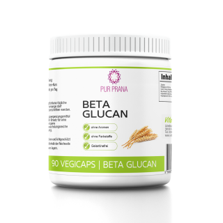 Beta Glucan 90 Vegicaps, Pur Prana