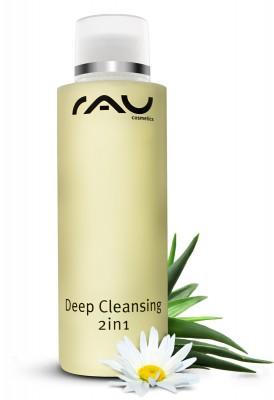 RAU Deep Cleansing 2in1 200 ml - modernes Reinigungssystem, zur Reinigung und Tonisierung