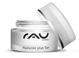EOL - RAU Hyaluron plus Tan 50 ml - 3-fach Effekt mit Hyaluronsäure, Lecithin, Sorbitol, Avocadoöl