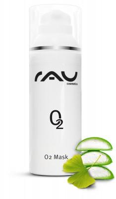 RAU O2 Mask 50 ml - Gesichtsmaske mit Aloe Vera, Arnika und Ginkgo
