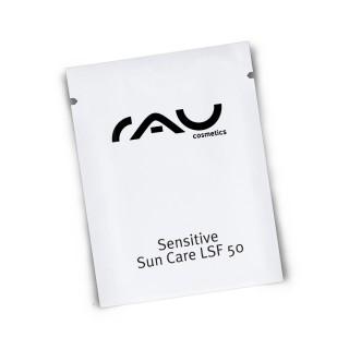 RAU Sensitive Sun Care LSF 50 Sonnengel mit Sheabutter im hygienischen 2 ml Sachet