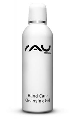 RAU Hand Care Cleansing Gel 100 ml - Handreinigung ohne Wasser für unterwegs - antibakteriell