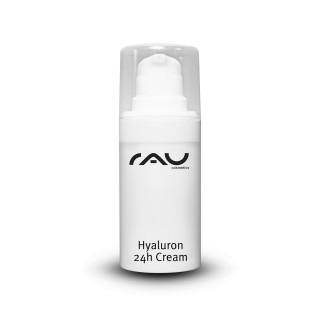 EOL - RAU Hyaluron 24h Cream 15 ml - Hyaluroncreme mit Hyaluronsäure, Sheabutter, Avocadoöl, Squalan