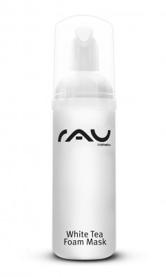 RAU White Tea Foam Mask 50 ml - remineralisierende, pflegende Anti-Aging Maske