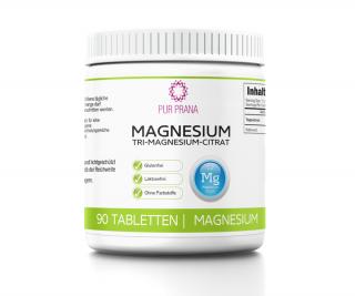 Reines Magnesium 90 Kautabletten, Pur Prana